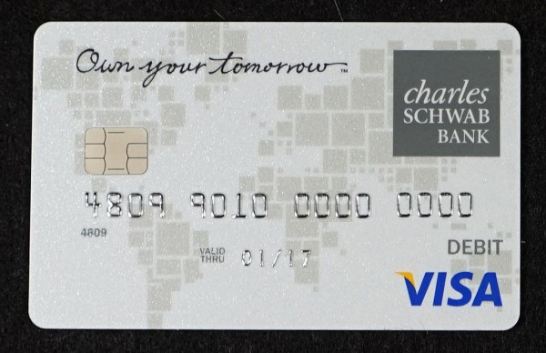 Charles Schwab Bank Visa Debit Card