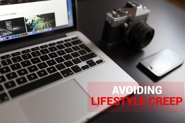 Avoiding lifestyle creep