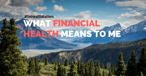 What financial health means to me